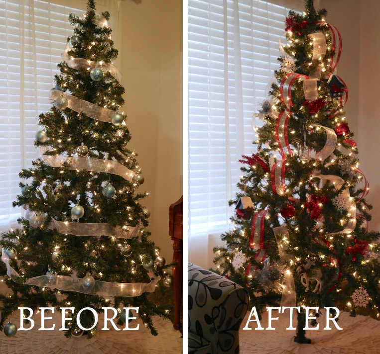 Sparse Christmas Tree Decorating.How To Decorate A Sparse Christmas Tree Following The Herd